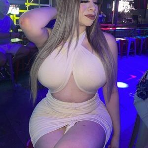 Ruched halter mini dress